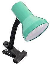 Настільна лампа-прищіпка Е27