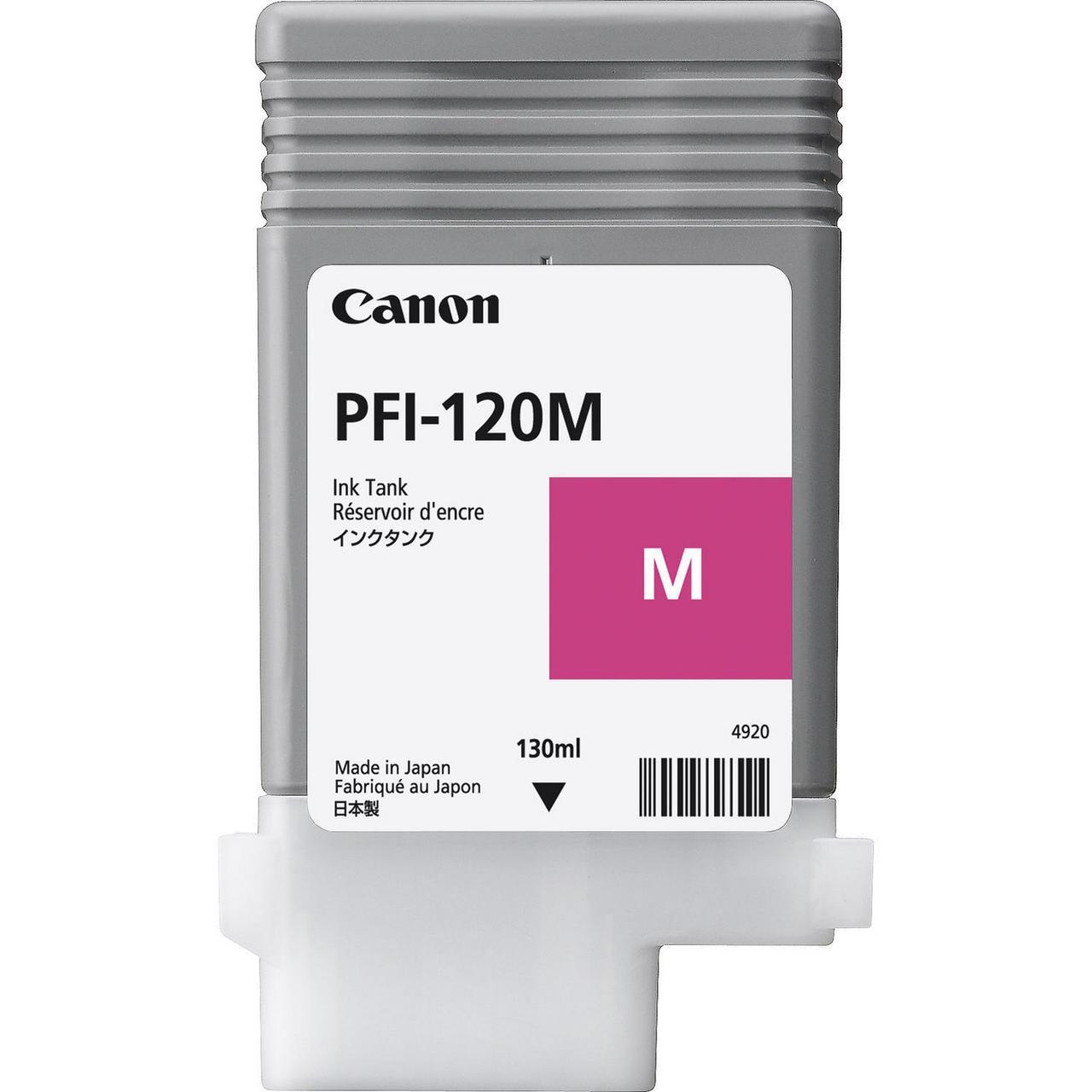 Картридж Canon PFI-120M для TM-200/300, Magenta, 130 мл