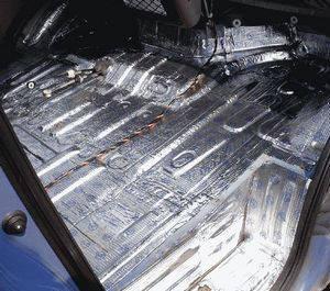 Шумо и виброизоляция обеспечит комфорт при поездке в авто