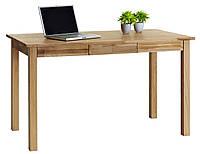 Стол письменный дуб 30x70x75см (2 выдвижный ящика), фото 1