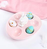 Блюдо, подставка для яиц Кролик 947-030