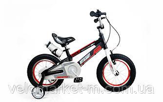 "Велосипед RoyalBaby SPACE NO.1 Alu 16"", OFFICIAL UA, чорний"