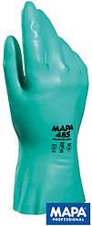 Рабочие перчатки покрытые нитрилом (перчатки защитные) RULTRANITRIL Z