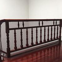 Защитная сетка от детей на лестницу, балкон Коричневая 300*74 см.