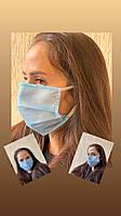 Защитная маска для лица . Плотная. Хорошего качества. 1 шт, фото 1