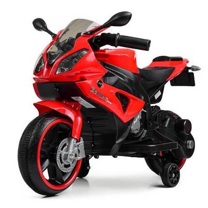 Мотоцикл Bambi M 4103-3 Красный, фото 2