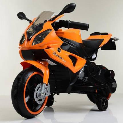 Мотоцикл Bambi M 4103-7 Оранжевый, фото 2