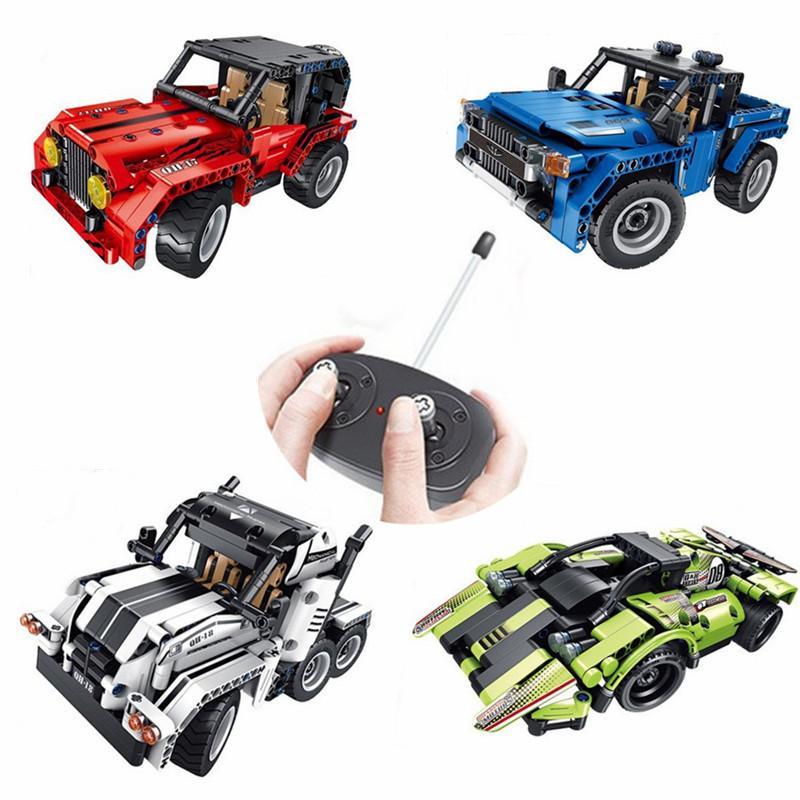 Технолоджи Групп Строительные Блоки Сборка Игрушки Головоломки Дети Дистанционное Управление Авто-1TopShop