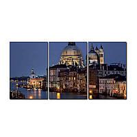 """Модульная картина на холсте """"Венеция"""" 190х90см, фото 1"""
