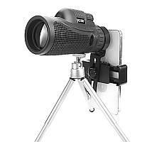 Moge 40x60 FMC Оптический HD Объектив Монокуляр с Штатив Телефонным Зажимом Портативный Кемпинг Телескоп для путешествий-1TopShop