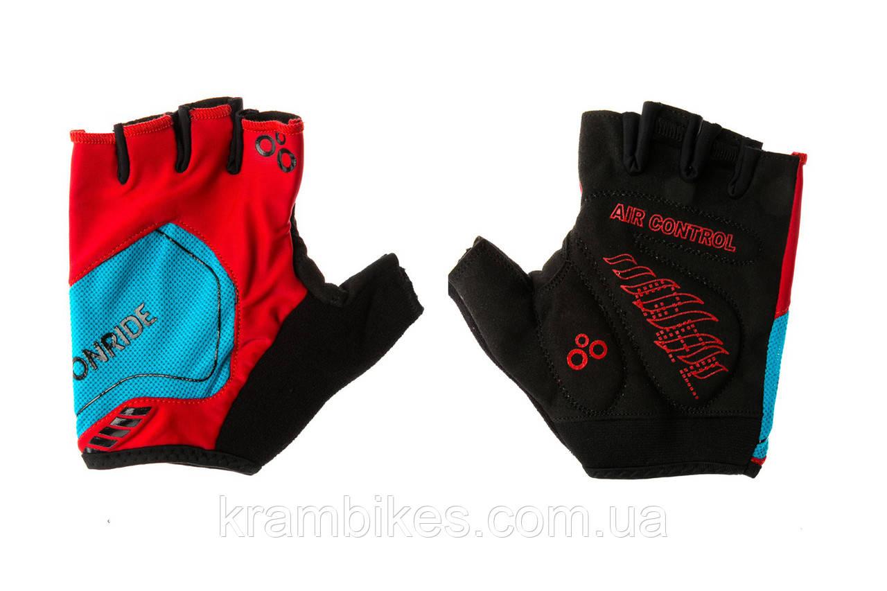 Перчатки OnRide - Catch Красный/Синий S