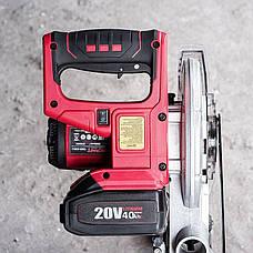 Торцовочная пила аккумуляторная Worcraft CMS-S20Li без АКБ и ЗУ, фото 3