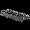 Мережевий фільтр LogicPower LP-X5 Premium, 5m, 5 розеток,16А, black (3520Вт), фото 4