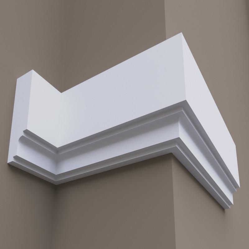 Фасадний молдинг ФТ18 һ200х50