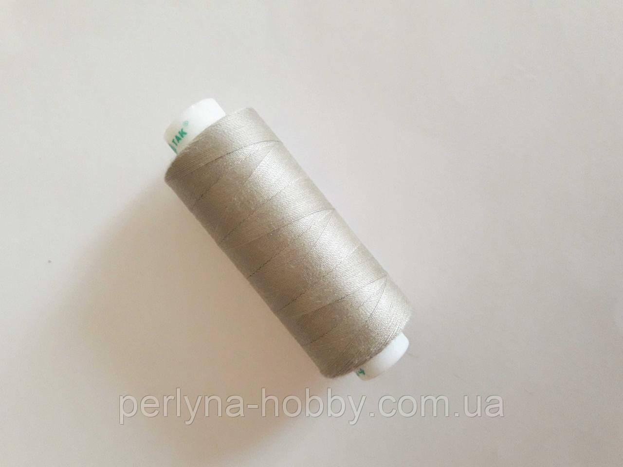 Нитки  для шиття, 400 ярдів (360 м)  поліестер 100%  Бежево-сіра  № 304