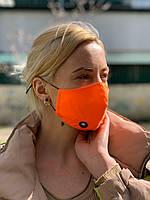 Хлопковая защитная маска для лица, маски трехслойные от вируса, маска Питта