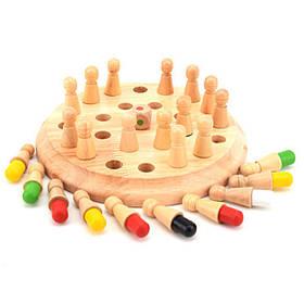 Деревянные Памяти Матч Шахматы Игры Клип Бусы Игрушки Монтессори Развивающие Игрушки для Детей-1TopShop