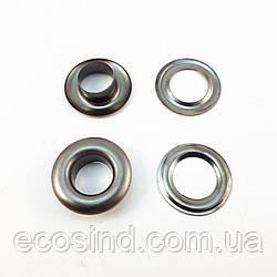 Люверс (Блочка) №2 D4мм 5000шт Темный никель (СТРОНГ-0216)