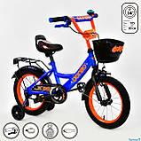 Велосипед двухколесный детский Corso 14 дюймов (3-5 лет) Доставка, фото 2