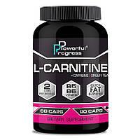 Жиросжигатель Powerful Progress L-Carnitine 90 капсул