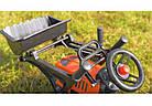Детский педальный трактор с прицепом и ковшом Falk 2065AM Kubota для детей, фото 2
