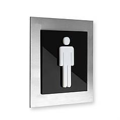 Таблички на двері туалету