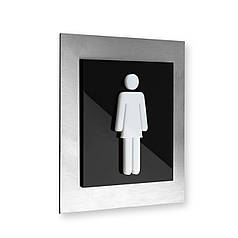 Табличка для женского туалета