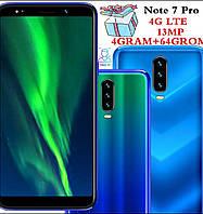 Смартфон 4G Note7 Pro 4/64