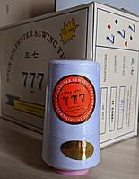 Нить швейна белая 777 40/2