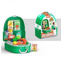 """Детский игрушечный набор  """"Мини магазин"""" в рюкзачке 36 предметов 7F706"""