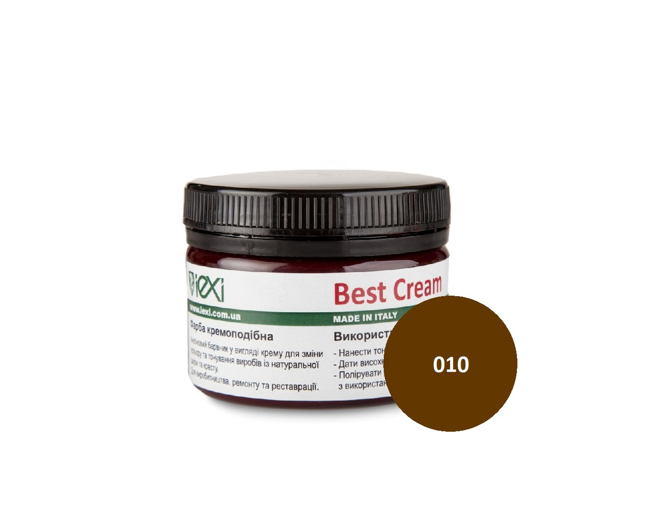 Крем-краска Best Cream для гладкой кожи  100 мл, Темно-коричневый