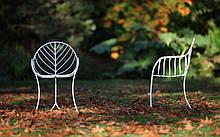 Кресло для отдыха LEAF металл напоминающий прожилки листьев