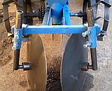 Картофелесажалка однорядная для мототрактора, фото 7