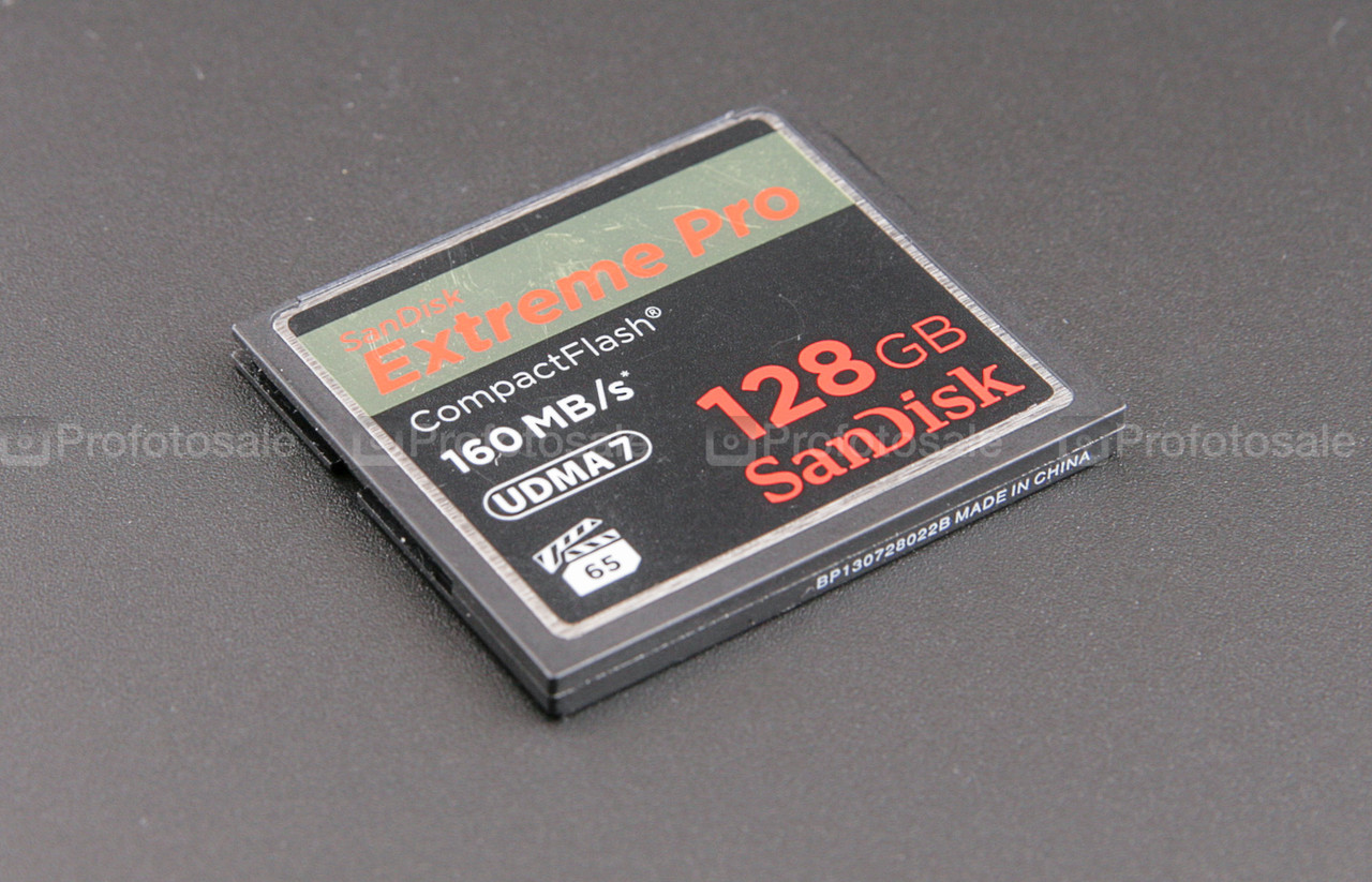 CF SanDisk Extreme Pro 128gb, 160mb/s