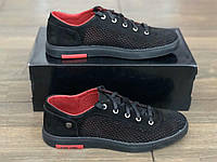 Кроссовки кожаные мужские Exstrem Polo ч/п размеры 40,41,42,43,45, фото 1