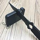 EDC точилка карбидадля для ножів 2в1. кишенькова міні точилка вольфрамова. портативна точилка-брелок., фото 5