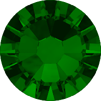 Стразы Сваровски для украшения ногтей 2058 Emerald ss 5 (100 шт/упаковка )