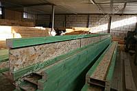 Деревянная двутавровая балка 55х150 мм