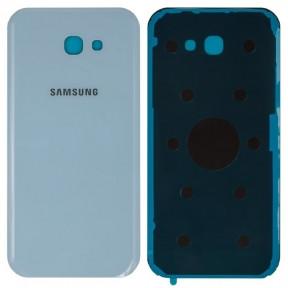 Задняя крышка Samsung A720F Galaxy A7 (2017) синяя