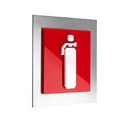 Таблички пожежної безпеки