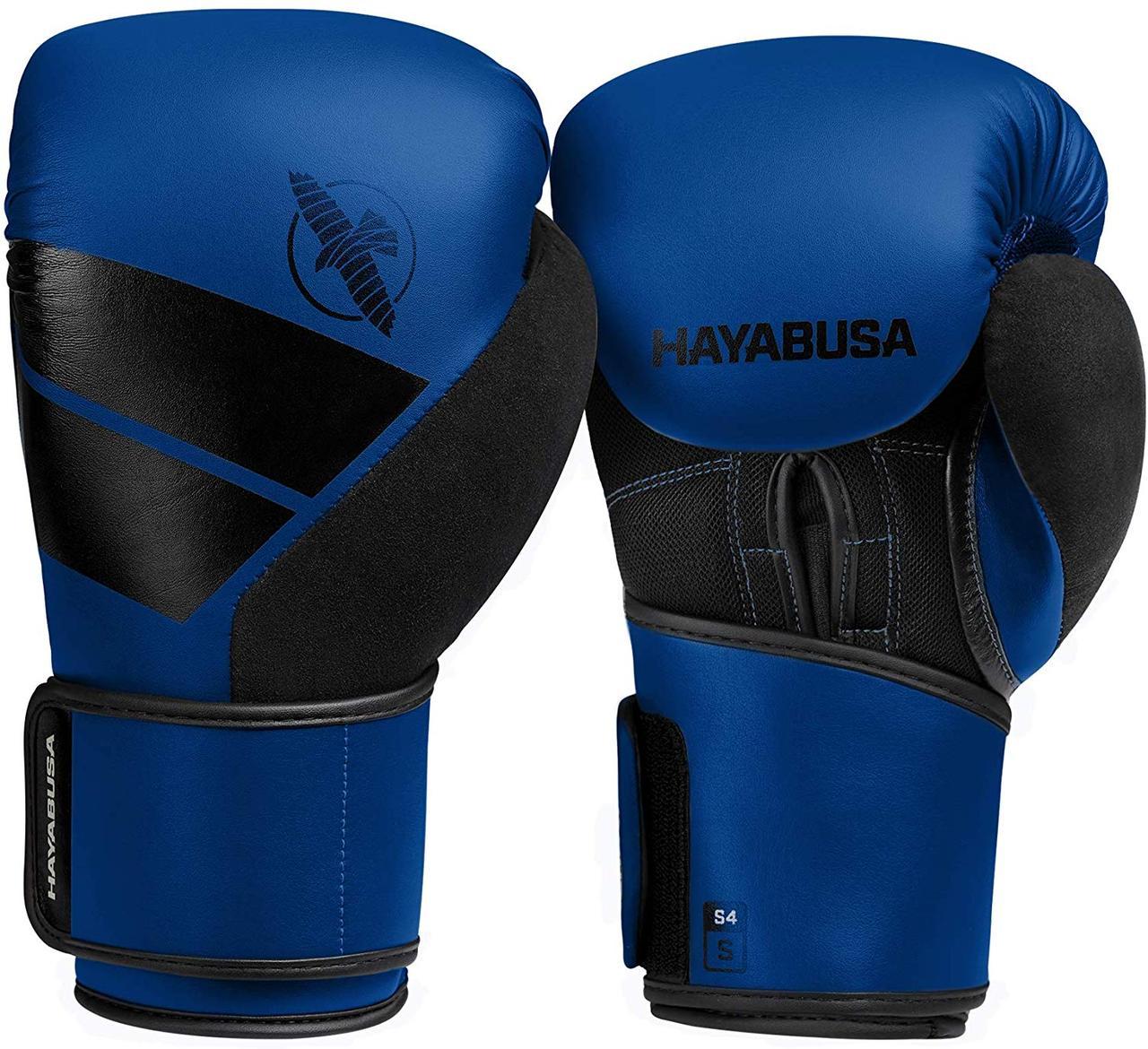 Боксерские перчатки Hayabusa S4 Сині 14oz (Original) M