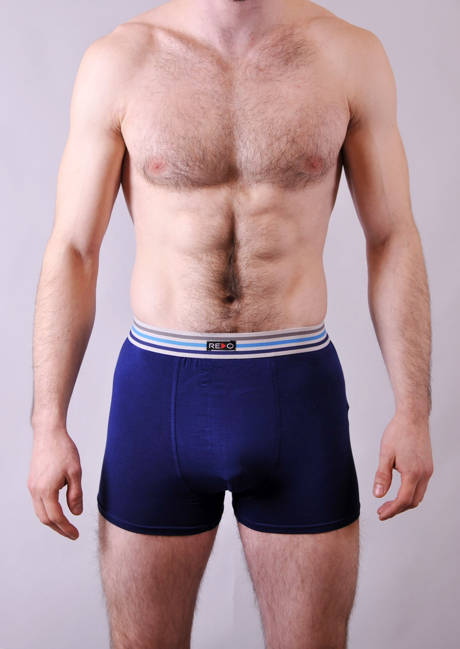Мужские трусы - боксеры Redo  #1588  XL синий
