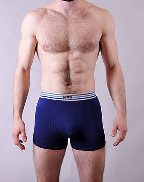 Мужские трусы - боксеры Redo  #1588  XL синий, фото 2