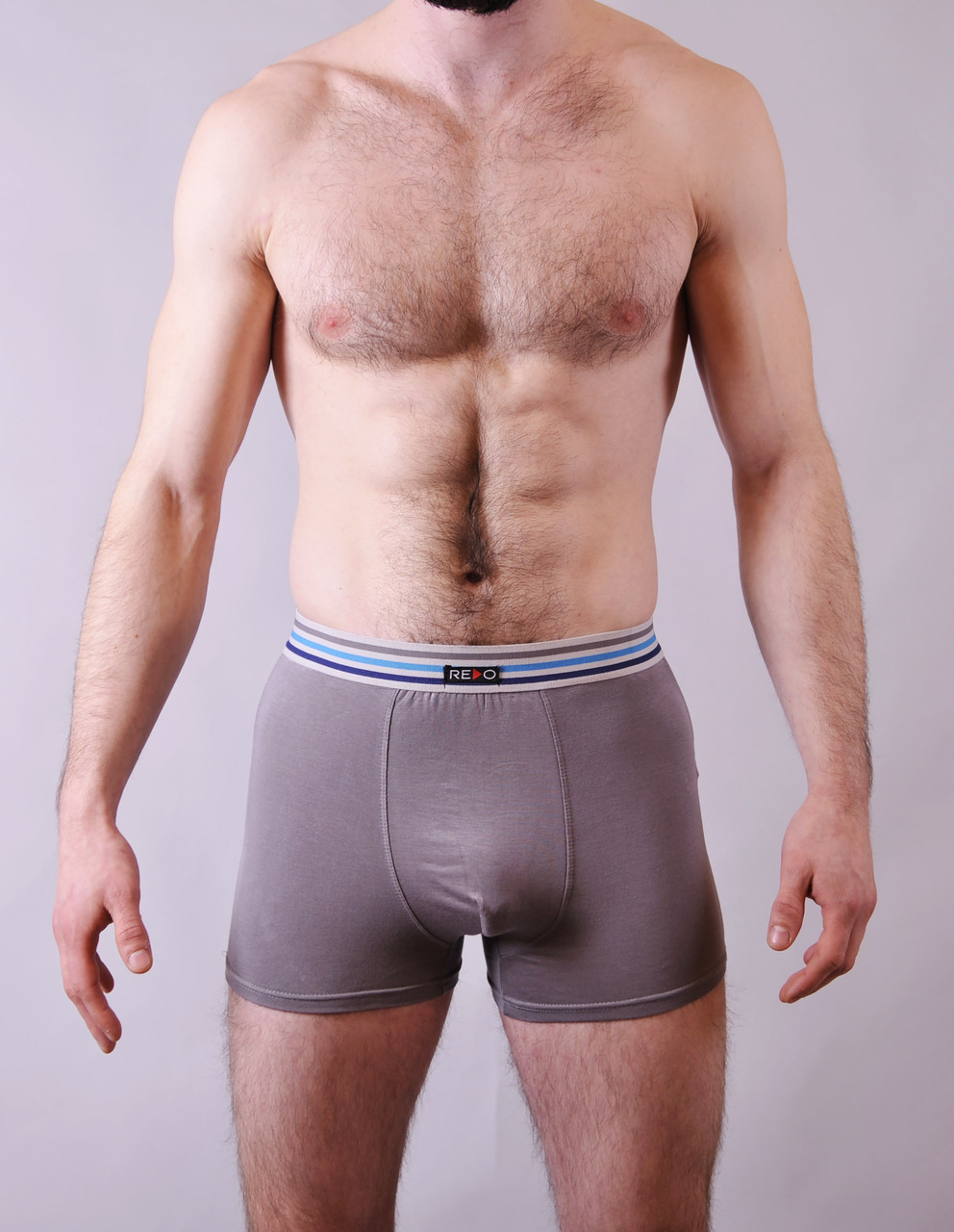 Мужские трусы - боксеры Redo  #1588  XL серый