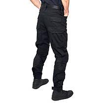 Тактические штаны ESDY B603Black 40 размер мужские брюки военные для силовых структур с карманами милитари, фото 2