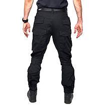 Тактические штаны Lesko B603 Black 40 размер мужские брюки военные для силовых структур с карманами милитари, фото 3