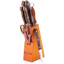 Набор ножей 8 предметов Rainbow MR-1406
