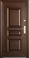 Дверь входная металлическая Дверь Стандарт 68 молоток высота1900 мм