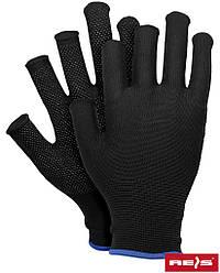 Перчатки изготовлены из полиэстера с точечно-сторонний POLFINGER-DOT B