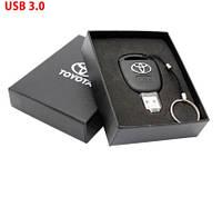 Флешка в виде ключа зажигания Тойота Toyota в подарочной коробке 32Гб USB 3.0